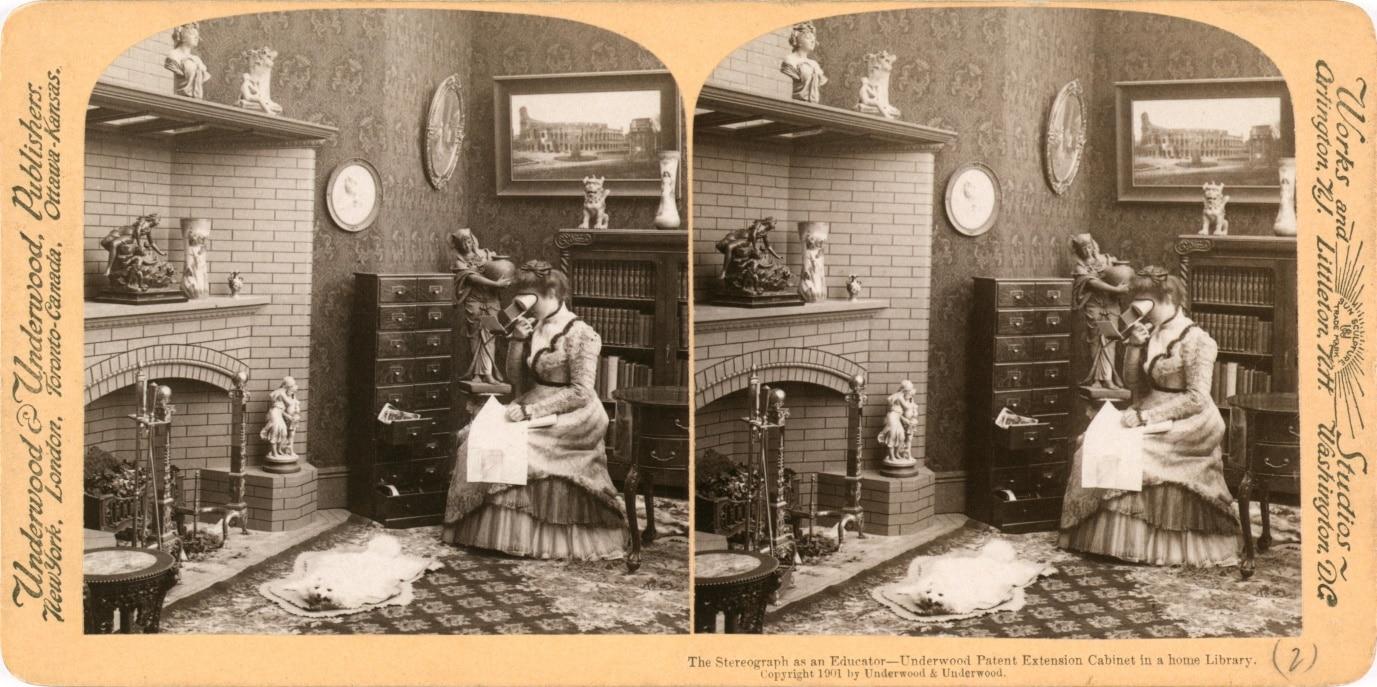 Victorian stereograph
